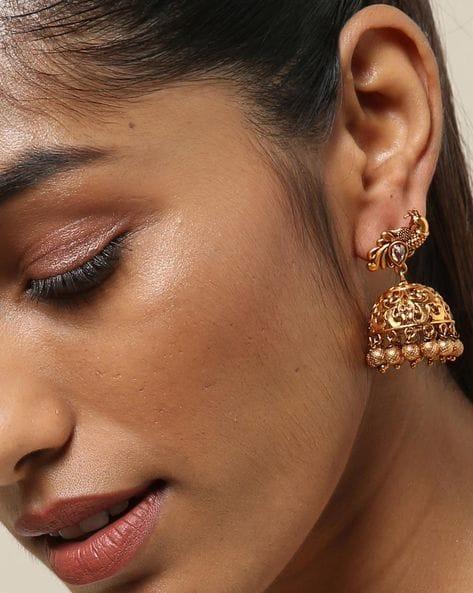 peacock-jhumka-earring