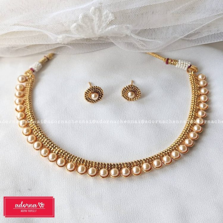 Antique Pearl Set