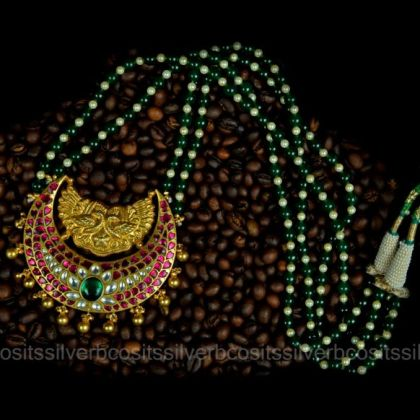Gold Plated Kundan Necklace