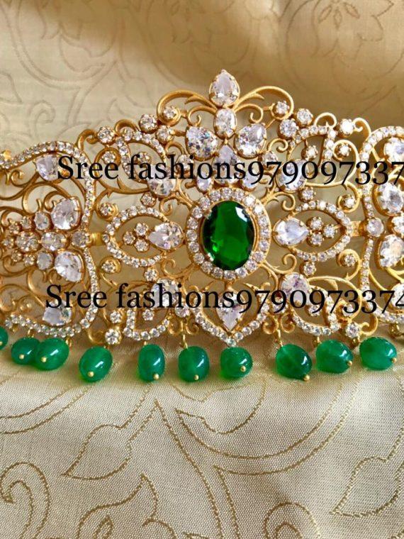 Gold Plated Pure Silver Waist Belt