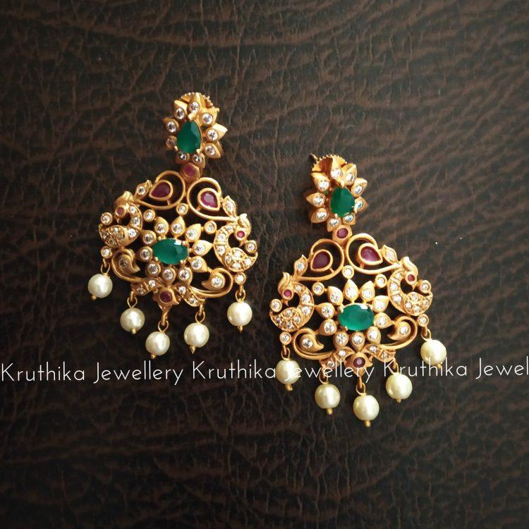 Traditional Stone Earrings