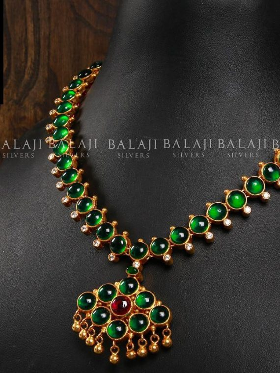 Double Sided Gold Plated Necklace