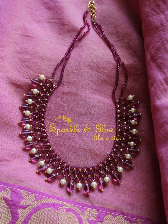 Statement-Beaded-Necklace