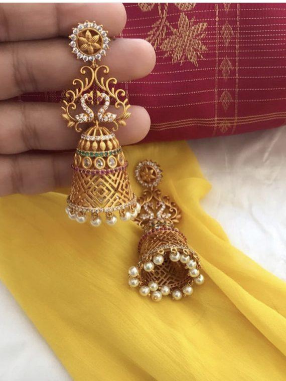 Traditional Bridal Jhumka