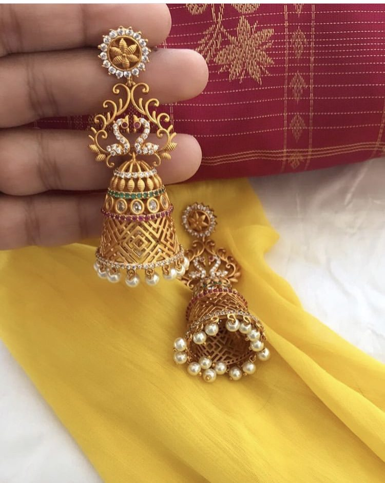 Traditional Bridal Jhumka