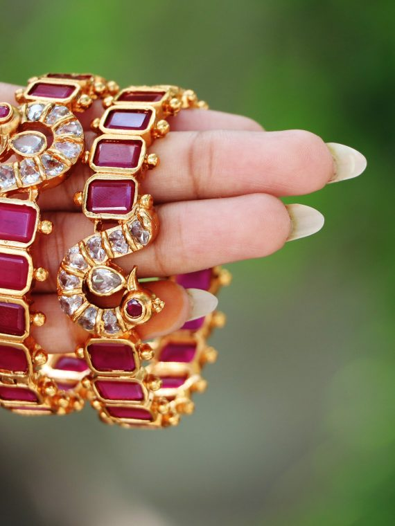 ACCIB00005_Ruby_Bracelet_Bangles_Pair