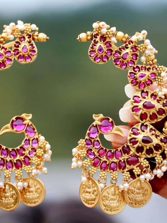 ACCIE00015_Alluring_Peacock_Designer_Ear_Cuff_Earrings