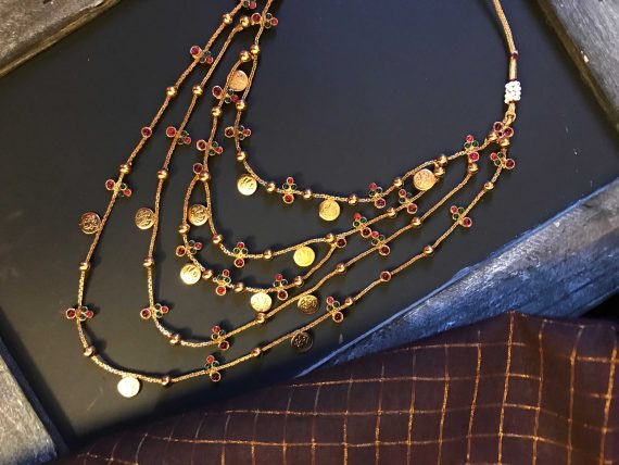 Layered Kemp Necklace Set