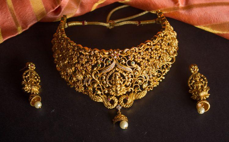 Exquisite Lakshmi Designer Chocker