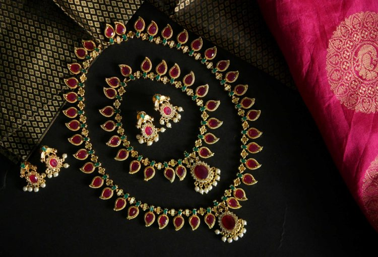 Traditional Kerala Bridal Jewellery Set