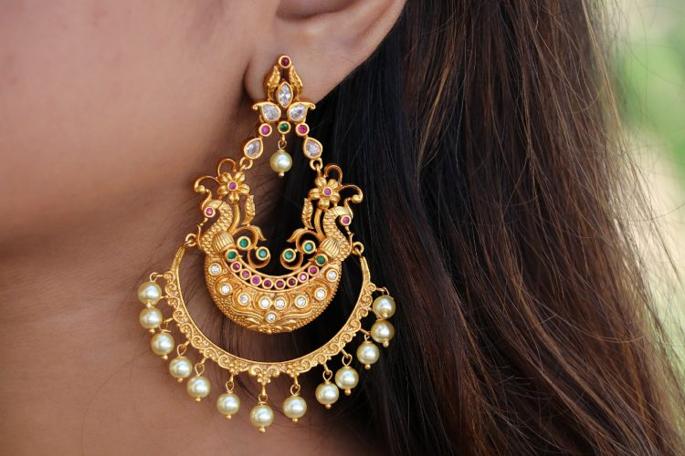 Antique Designer Earings - 01