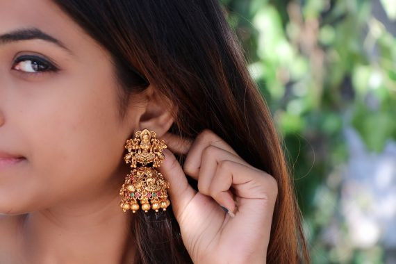 Floral designer Lakshmi Jhumkas - 02