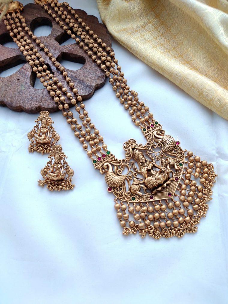 Grand Bridal Lakshmi Temple Haram