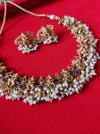 Temple Ganesh Necklace Set - 02