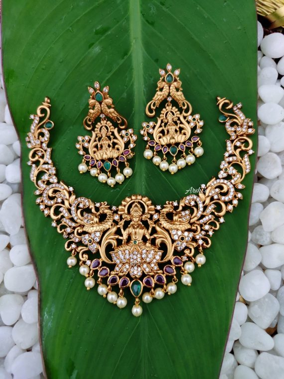 Temple Lakshmi Choker Necklace