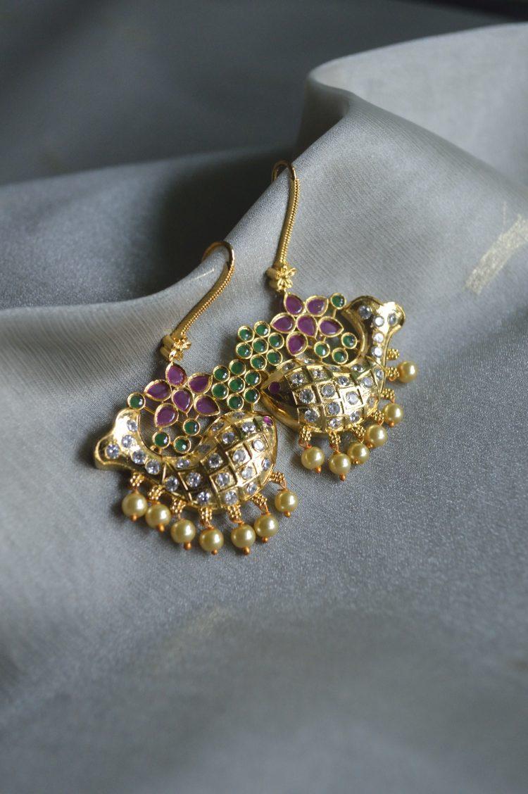 Traditional Fish Hook Earrings - 02