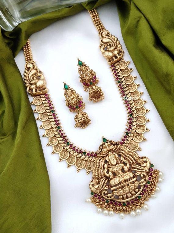 Antique Temple Lakshmi Haram-01