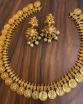Coin Necklace With Earrings-02