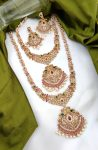Grand South Indian Imitation Bridal Jewellery Set-01