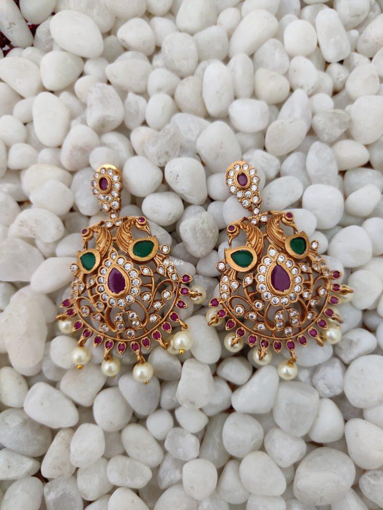 Grand South Indian Imitation Bridal Jewellery Set-03