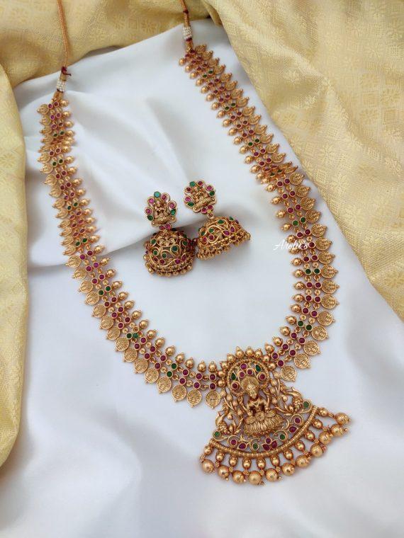 Imitation Lakshmi Coin Haram Set-01