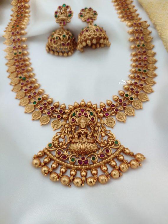 Imitation Lakshmi Coin Haram Set-02