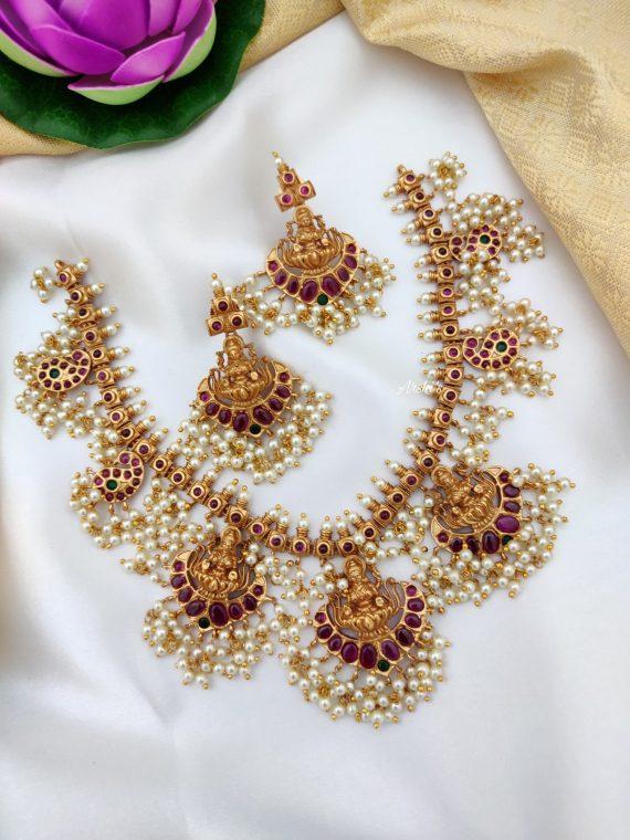 Lakshmi Guttapusalu Necklace Set-01