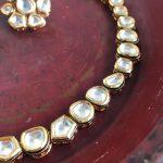 Vilandi Kundan Single Layer Necklace-02