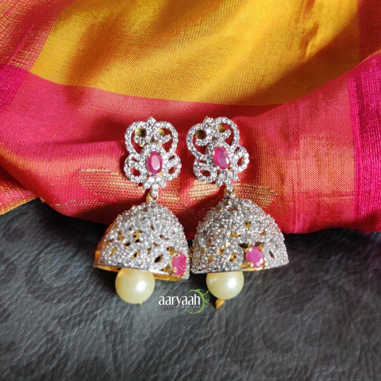 Gorgeous Diamond Finish Bridal Choker-03