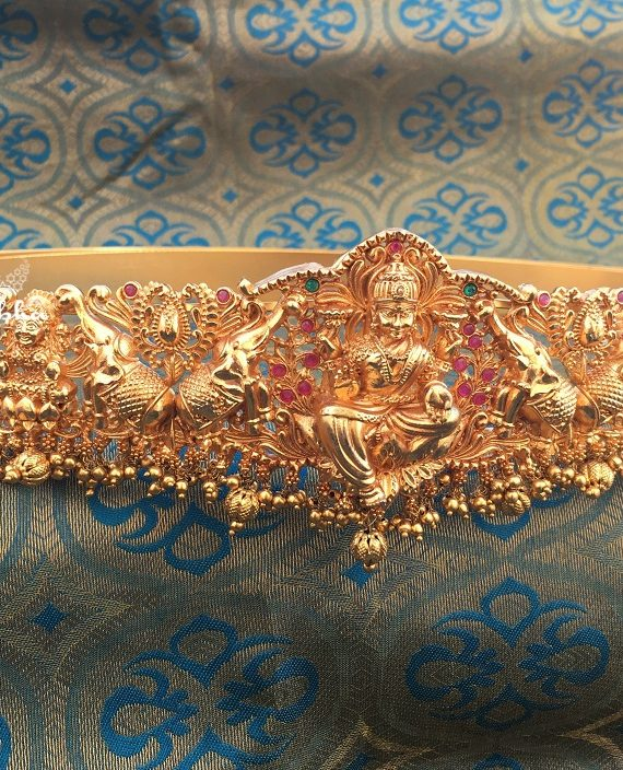 Alluring Grand Wedding Hip Belt -01