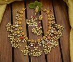 Best Quality Navarathna Matt Guttapusalu Necklace-01