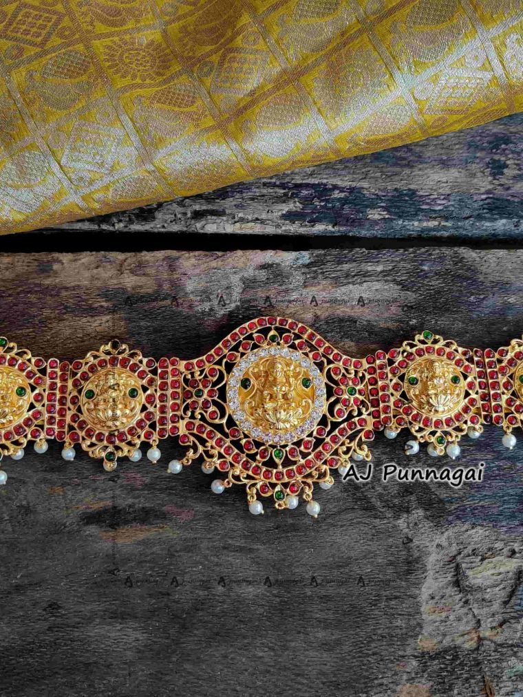 Minimalastic Bridal Lakshmi Hip Belt-01