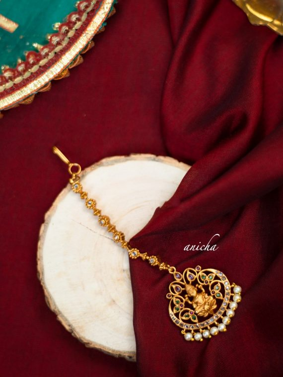 Traditional Lakshmi Maang Tikka-01