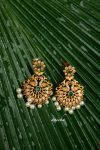 Traditional Matte Peacock Chandbalis-01