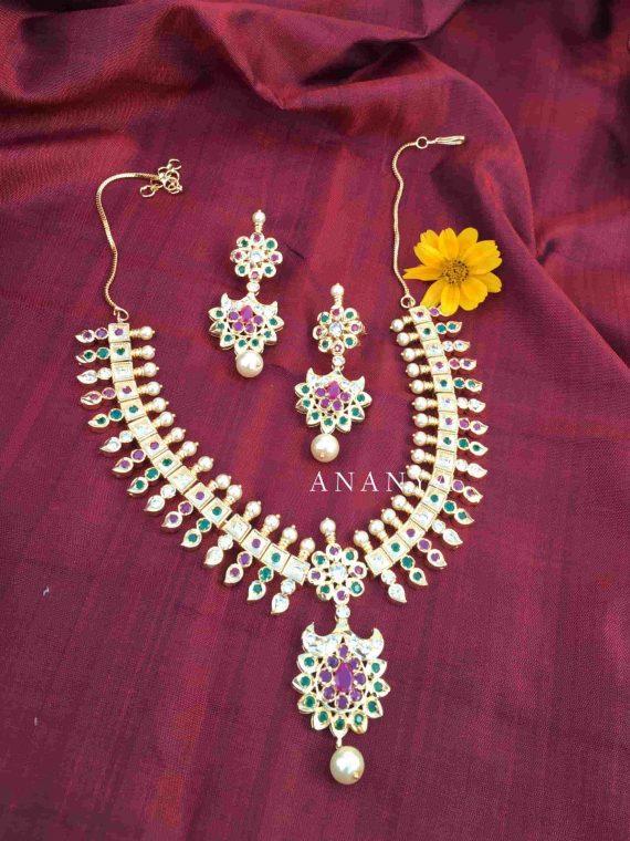 Beautiful Mango Design Imitation Necklace