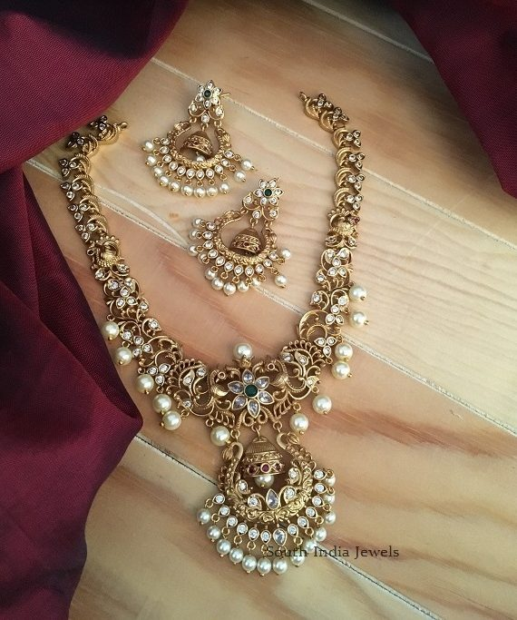 Beautiful Chandabali Imitation Necklace