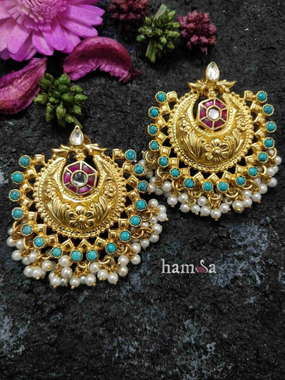 Beautiful Chandbali Designer Earrings