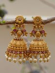 Beautiful Antique Matte Finish Jhumka