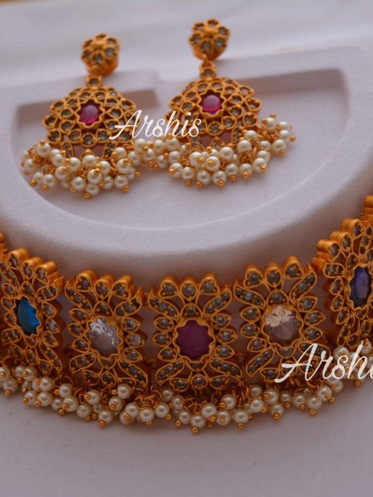 Sparkle Navarthna Chocker