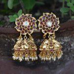 Beautiful Ganesh Design Jhumka