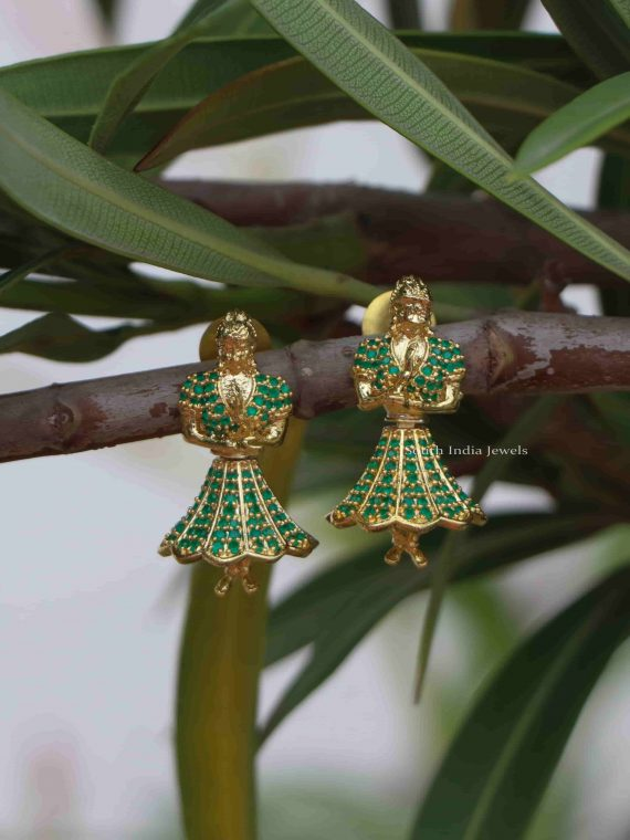 Butta Bomma Design Dancing Jhumkas