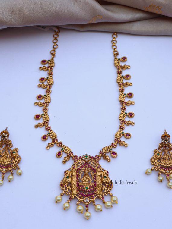 Beautiful Lakshmi Pendant Necklace