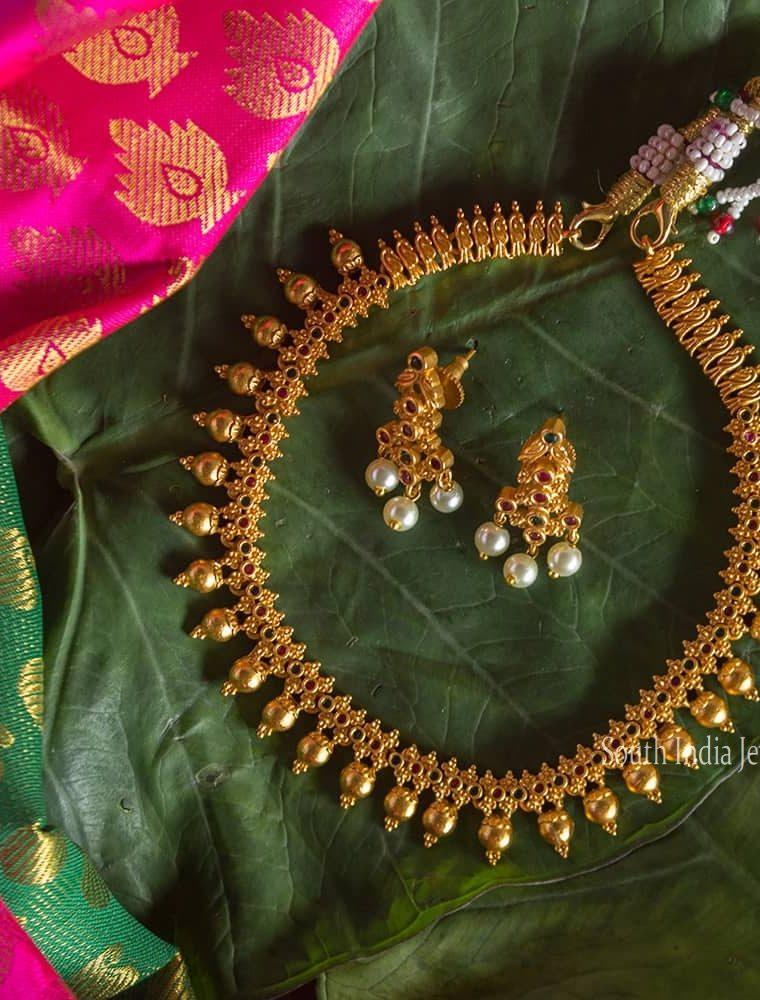Beautiful Uncut Multi Stone Necklace
