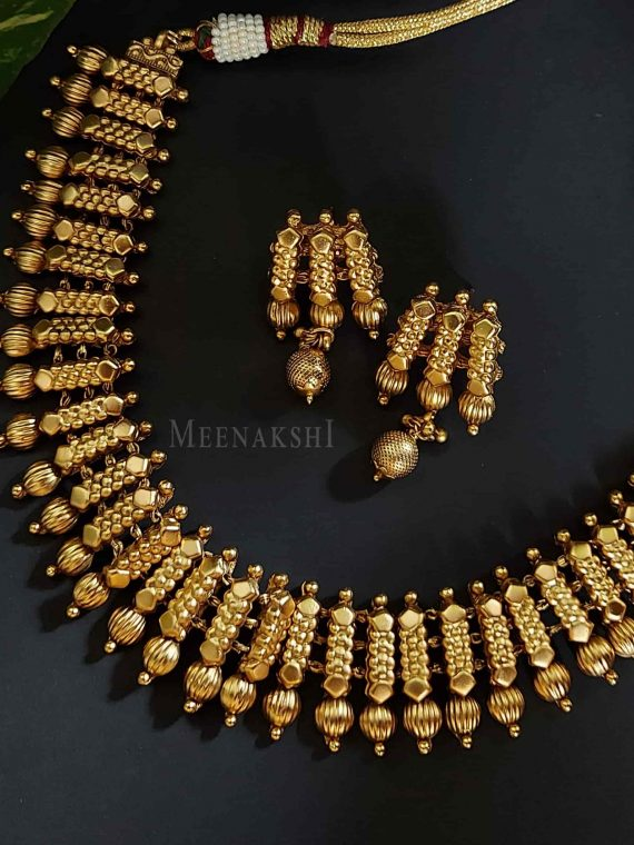 Antique Plain Designer Necklace-01