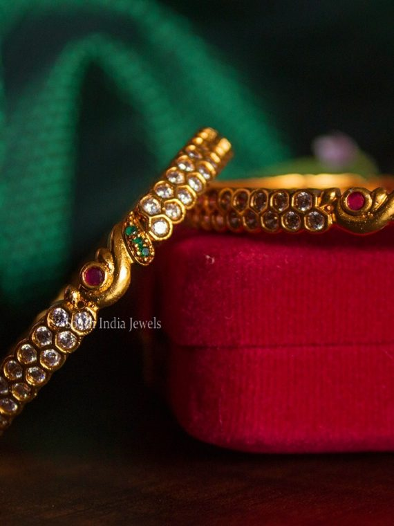 Beautiful Annam Design AD Two Bangles-01