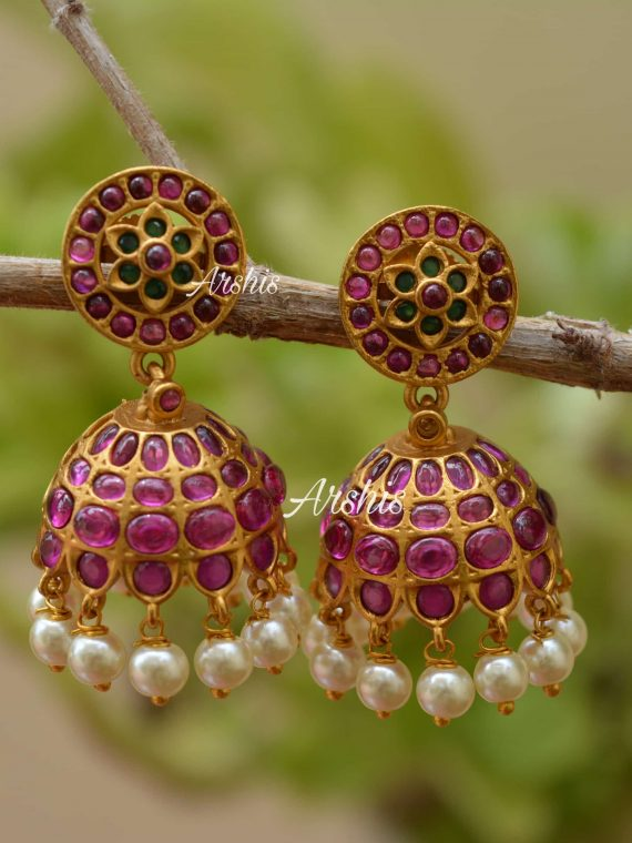 Beautiful Trendy Mini Type Jhumka-01