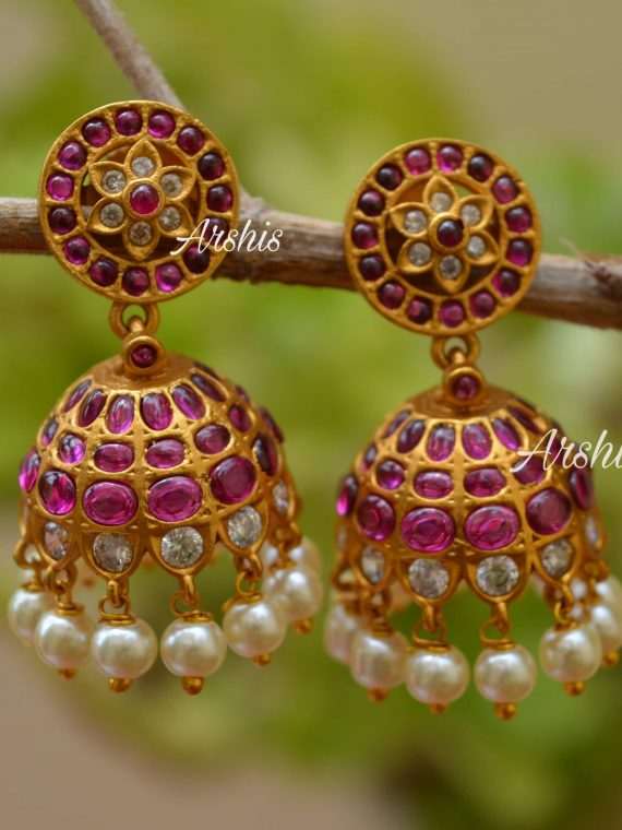 Beautiful Trendy Mini Type Jhumka-02