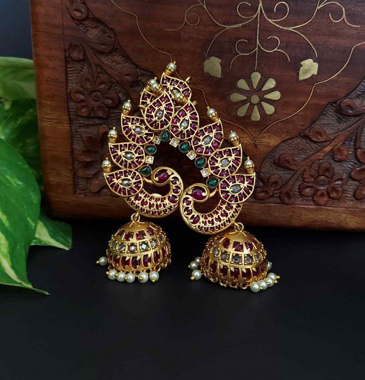 Elegant Bridal Ear Cuffs-01