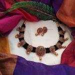 Elegant Mango Design Thread Necklace-01
