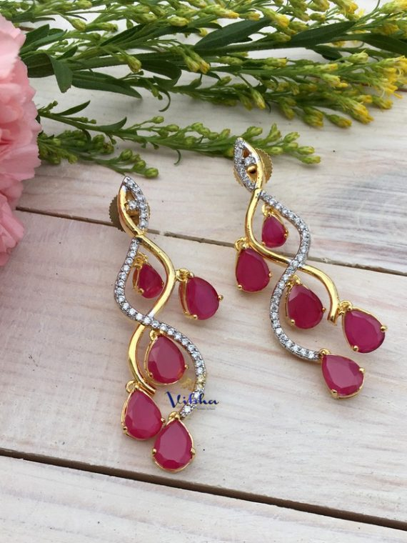 Exclusive Designer Dangler Earrings-01